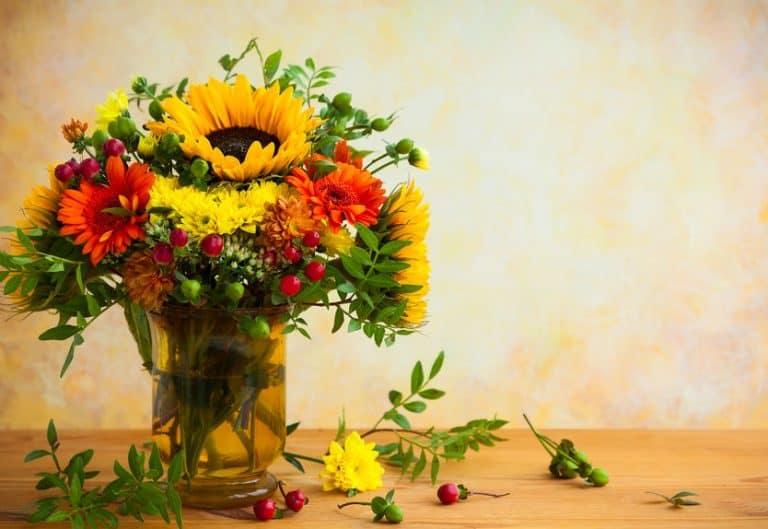 Jarron de flores