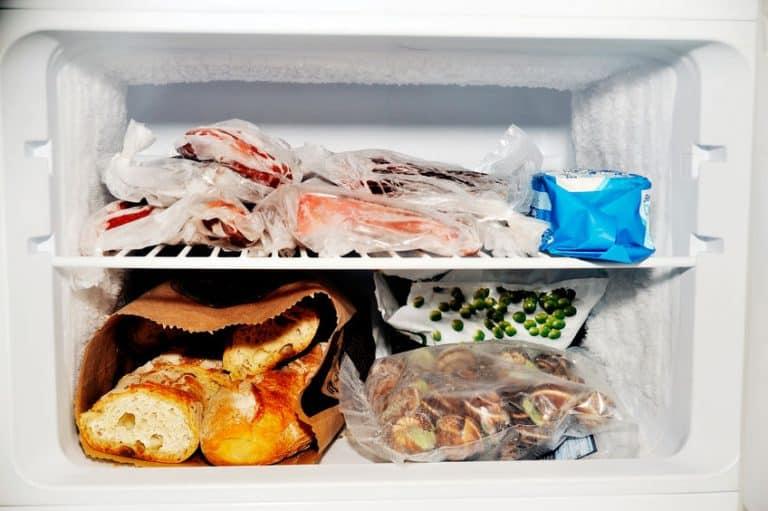 Comida en el freezer