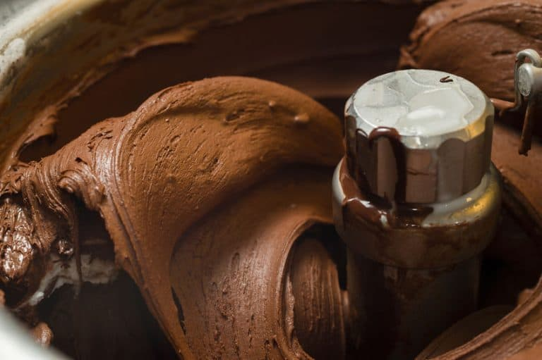 Aspas de maquina de helados