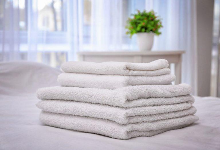 toallas dobladas