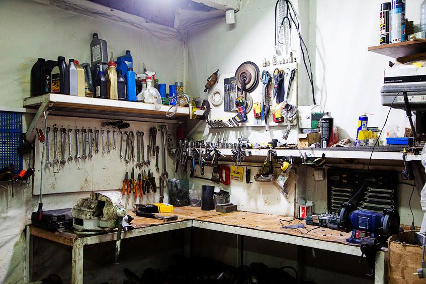 herramientas de garage