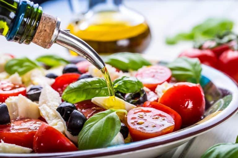 Aceite usado para aliñar ensalada