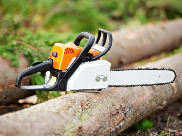 11073817 – lumberjack work tool petrol chainsaw