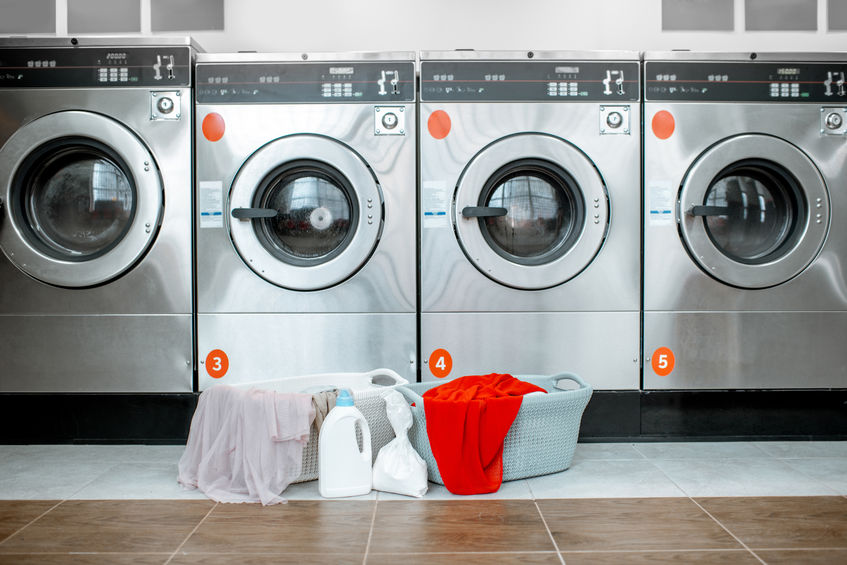 lavadoras y lavandería publica
