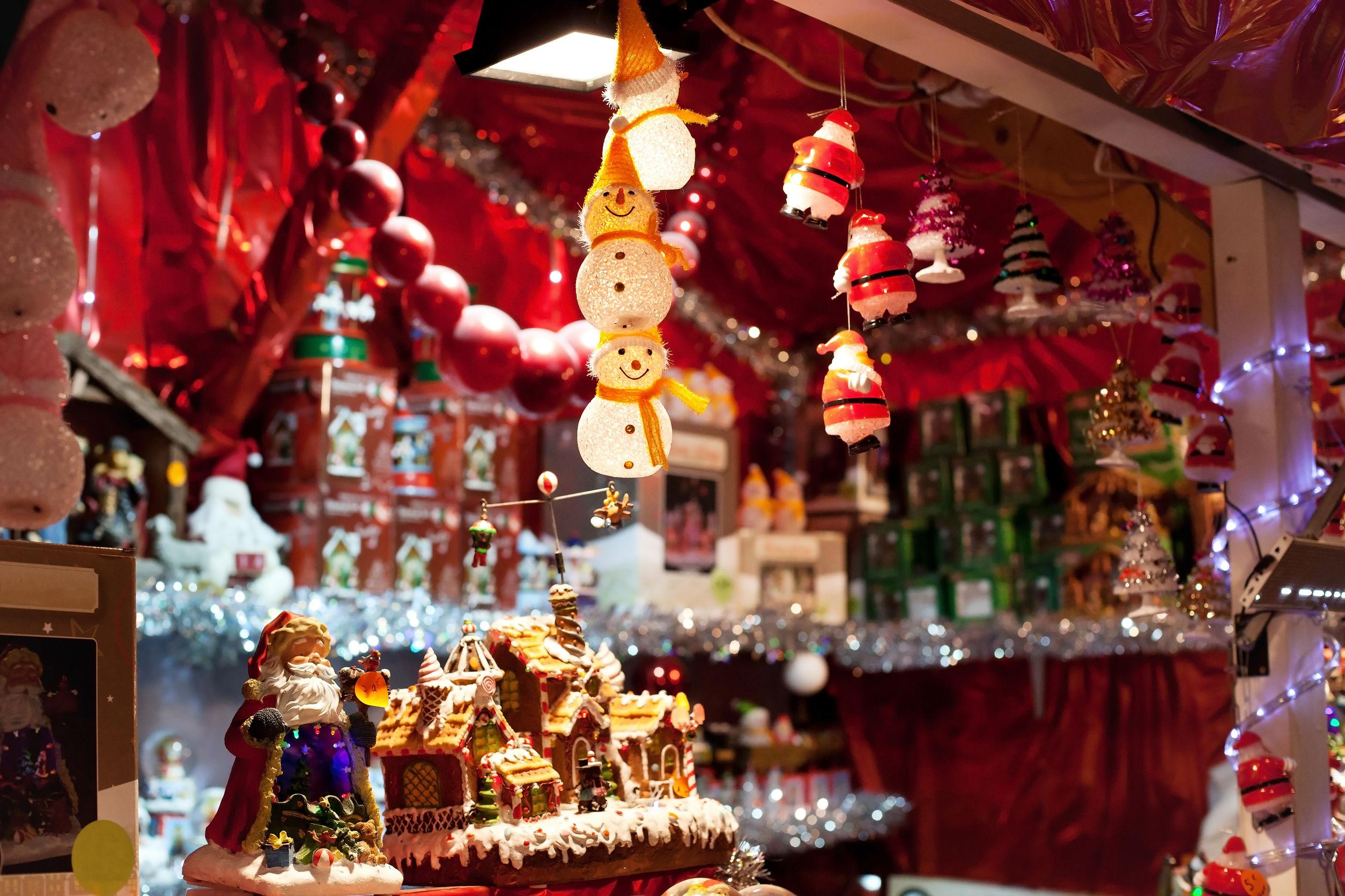 Vnata de decoración navideña