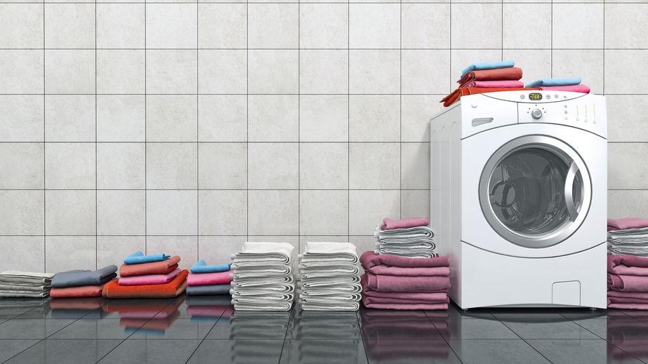lavadoras con mucha ropa para lavar