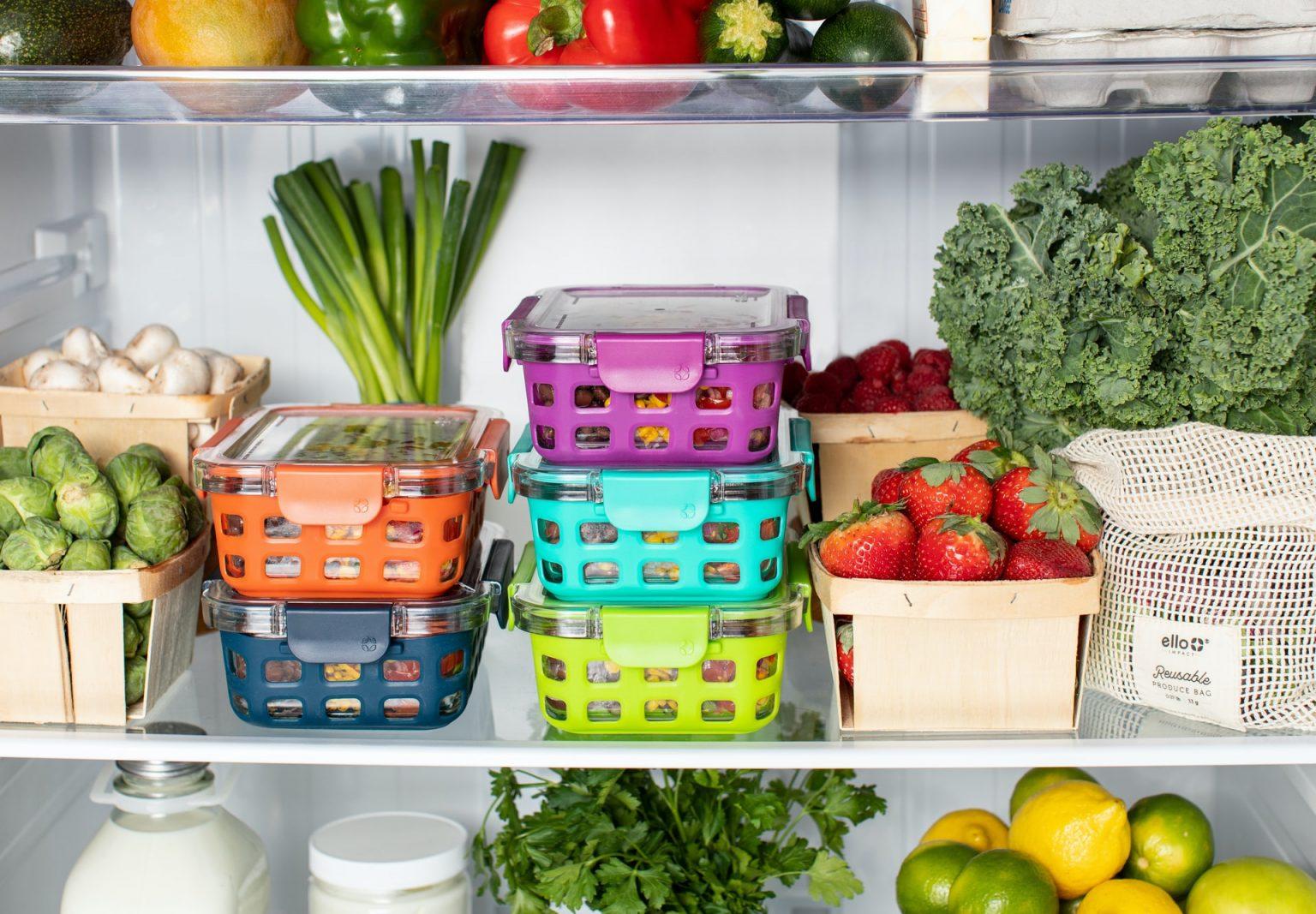 huevos dentro de refrigerador