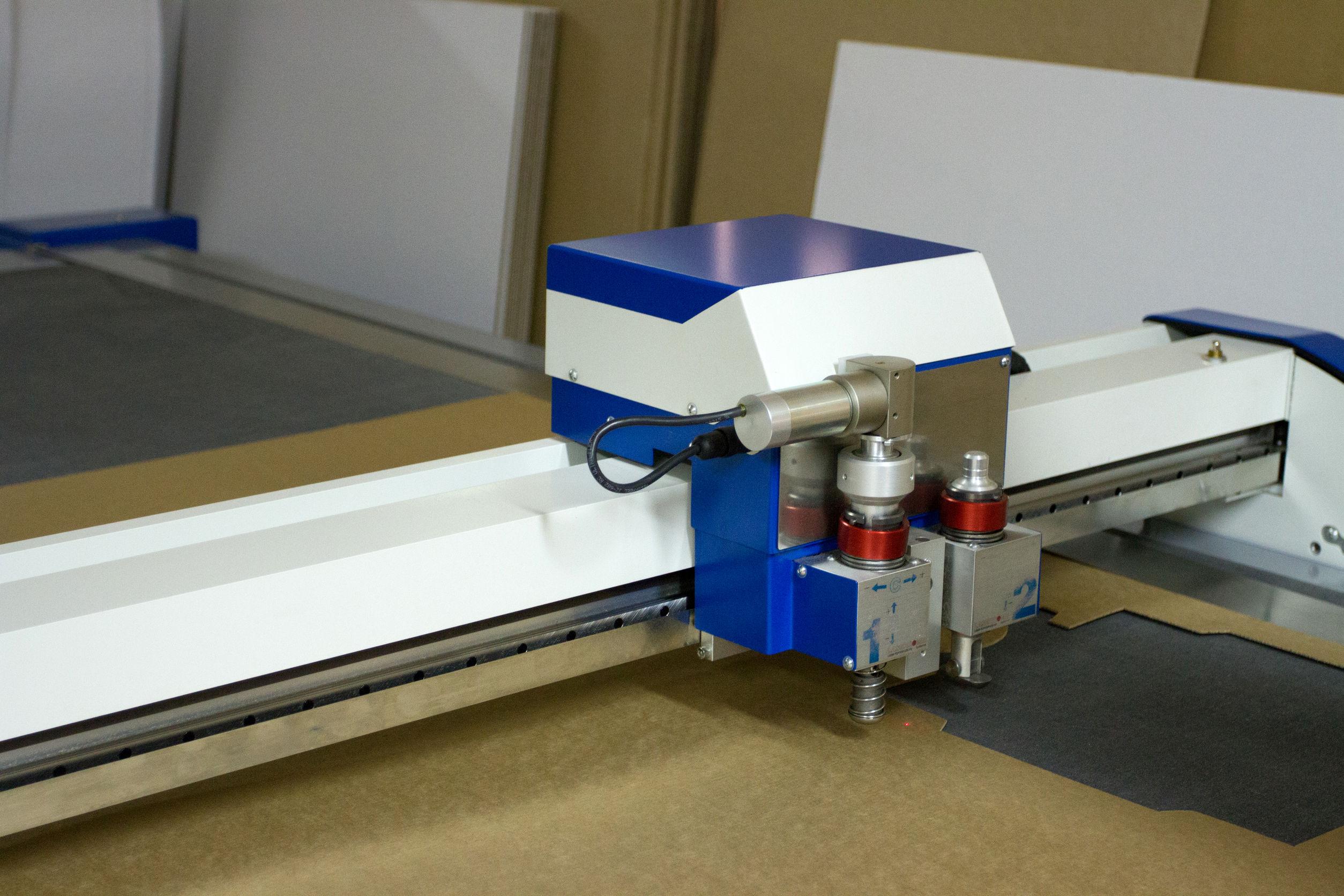 Trazador de corte láser 3D profesional en fábrica