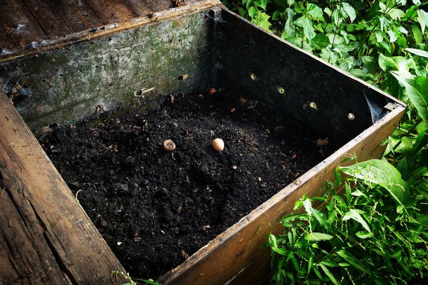 composta para jardin casero