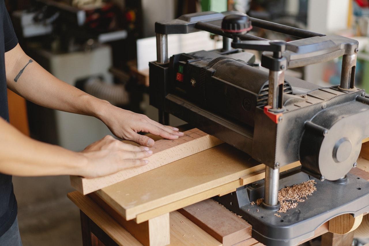 maquina para cepillar madera