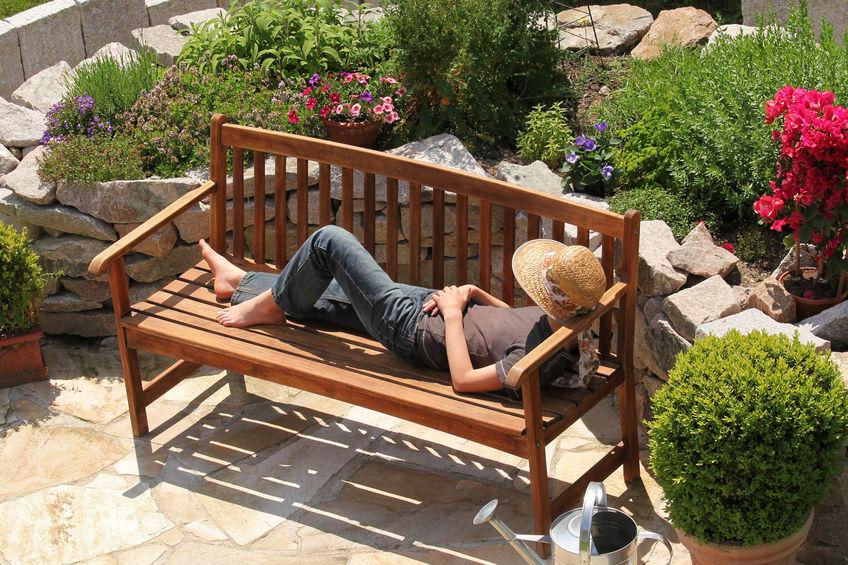 banca para jardín