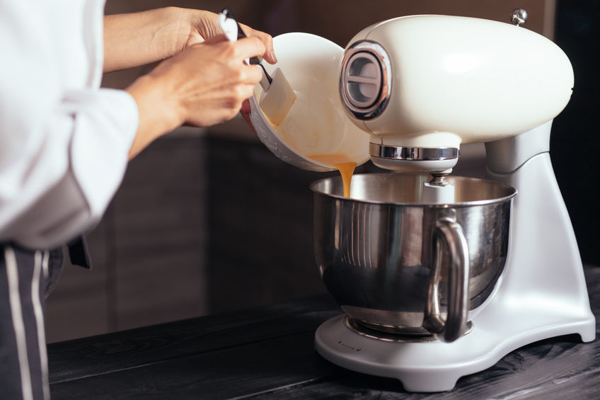 haciendo mezcla de cocian