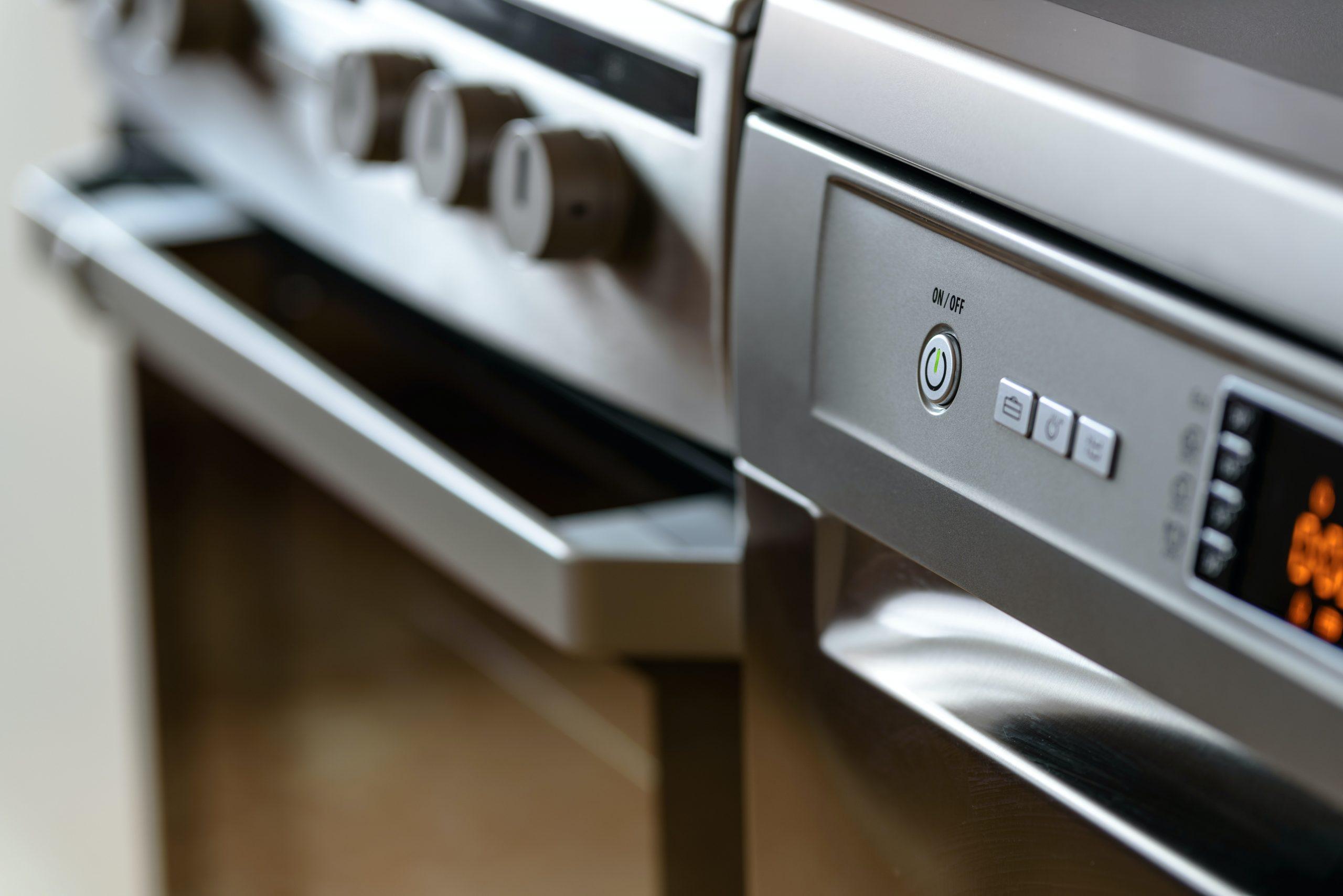 horno de vapor en cocina convencional