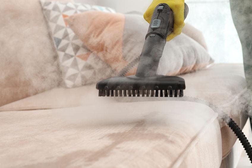 limpieza con vapor