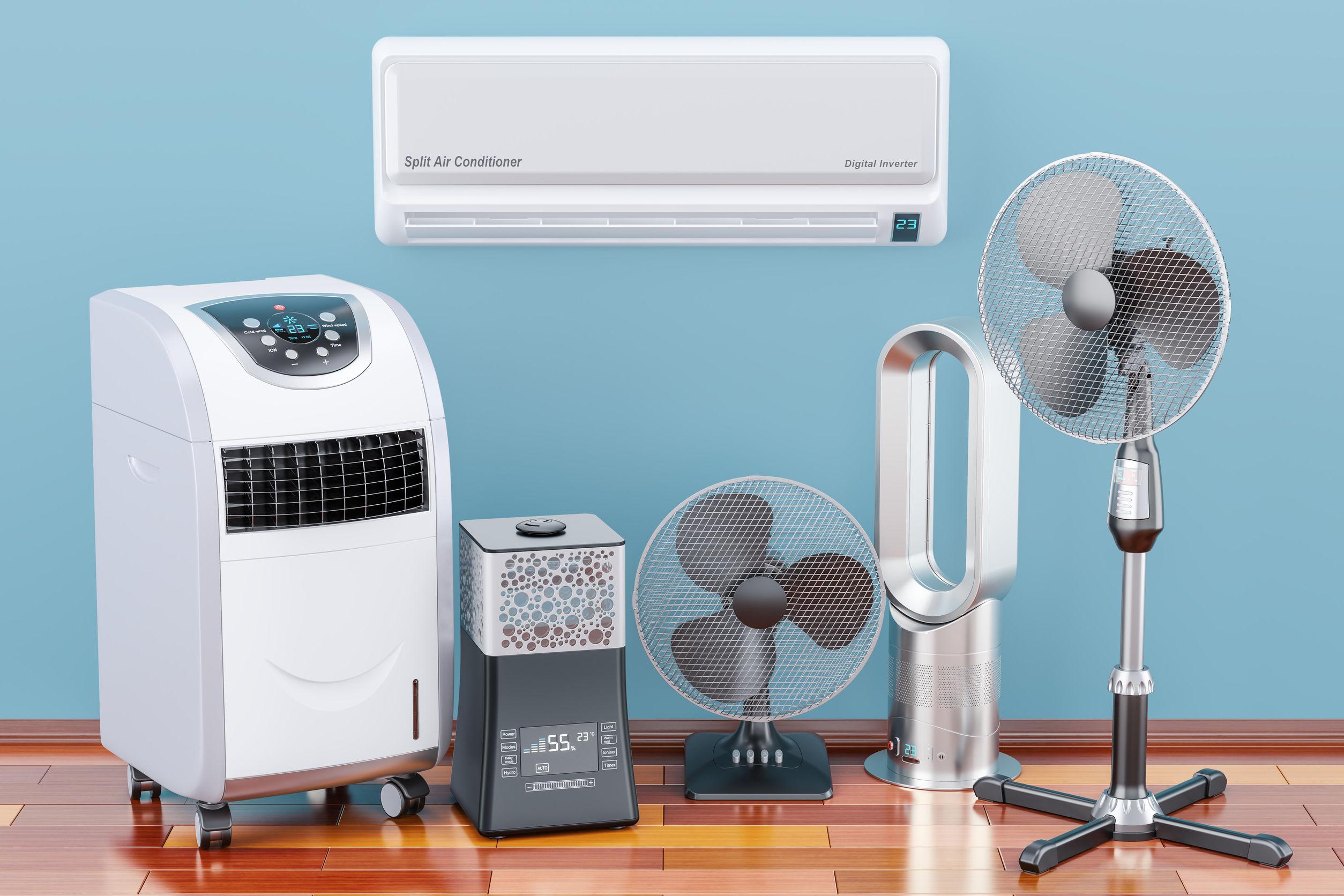 dispositivos de aire acondicionado