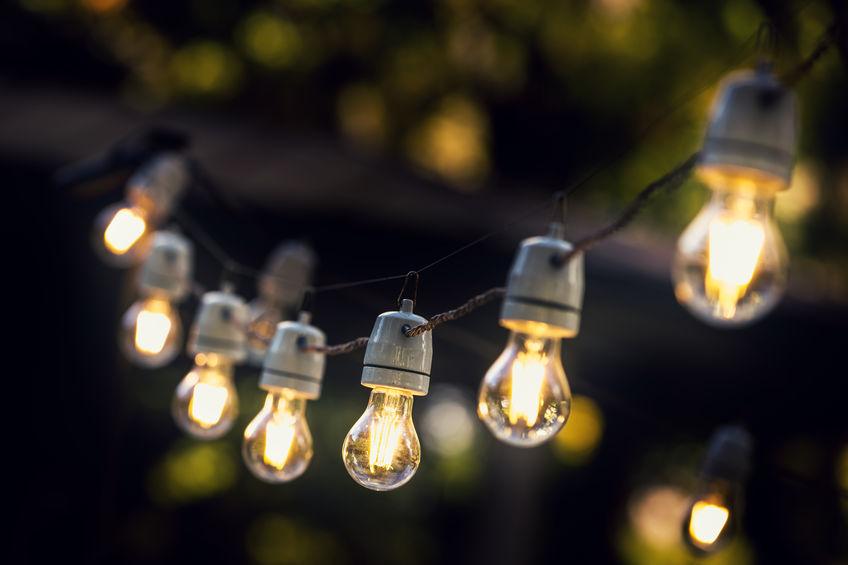 bombillas de jardín