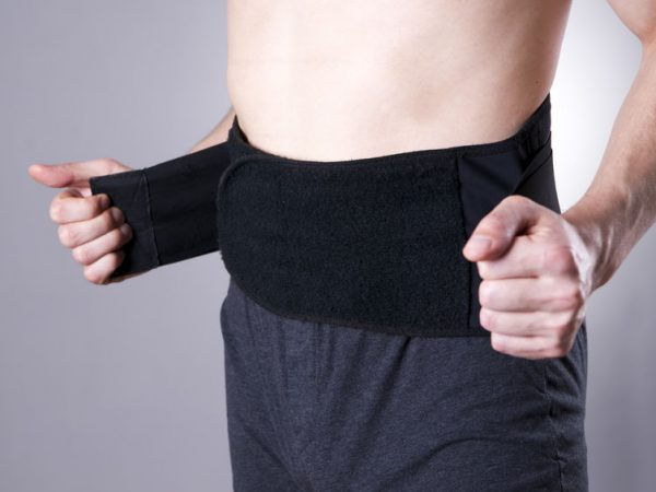 faja lumbar para dolores de espalda