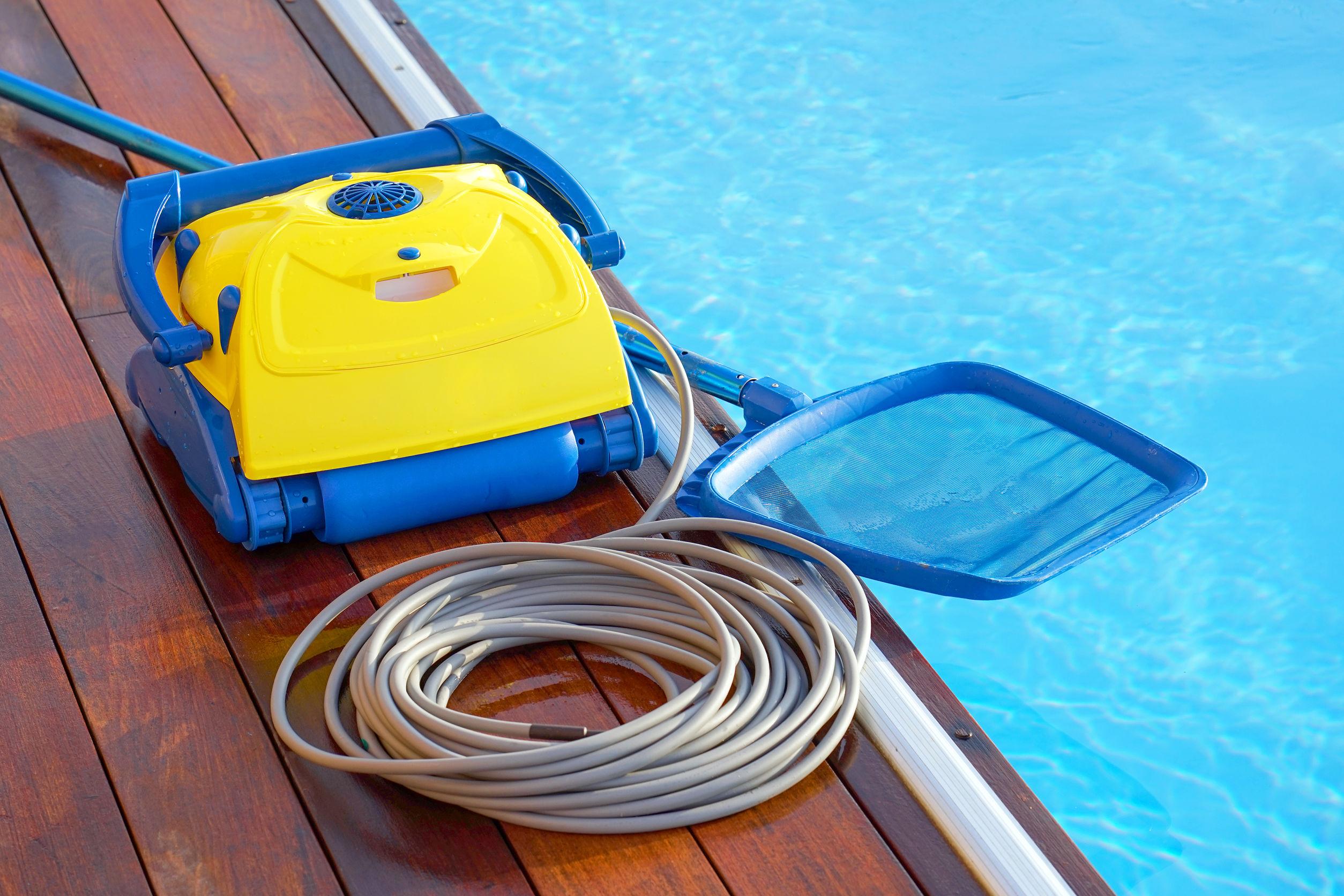 limpadora de piscina