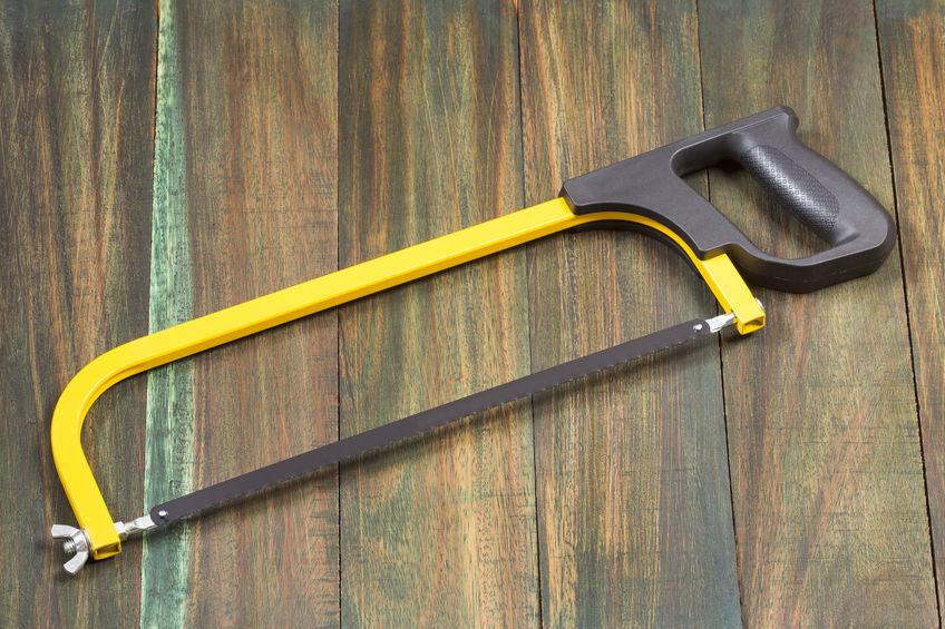 sierra de arco amarilla
