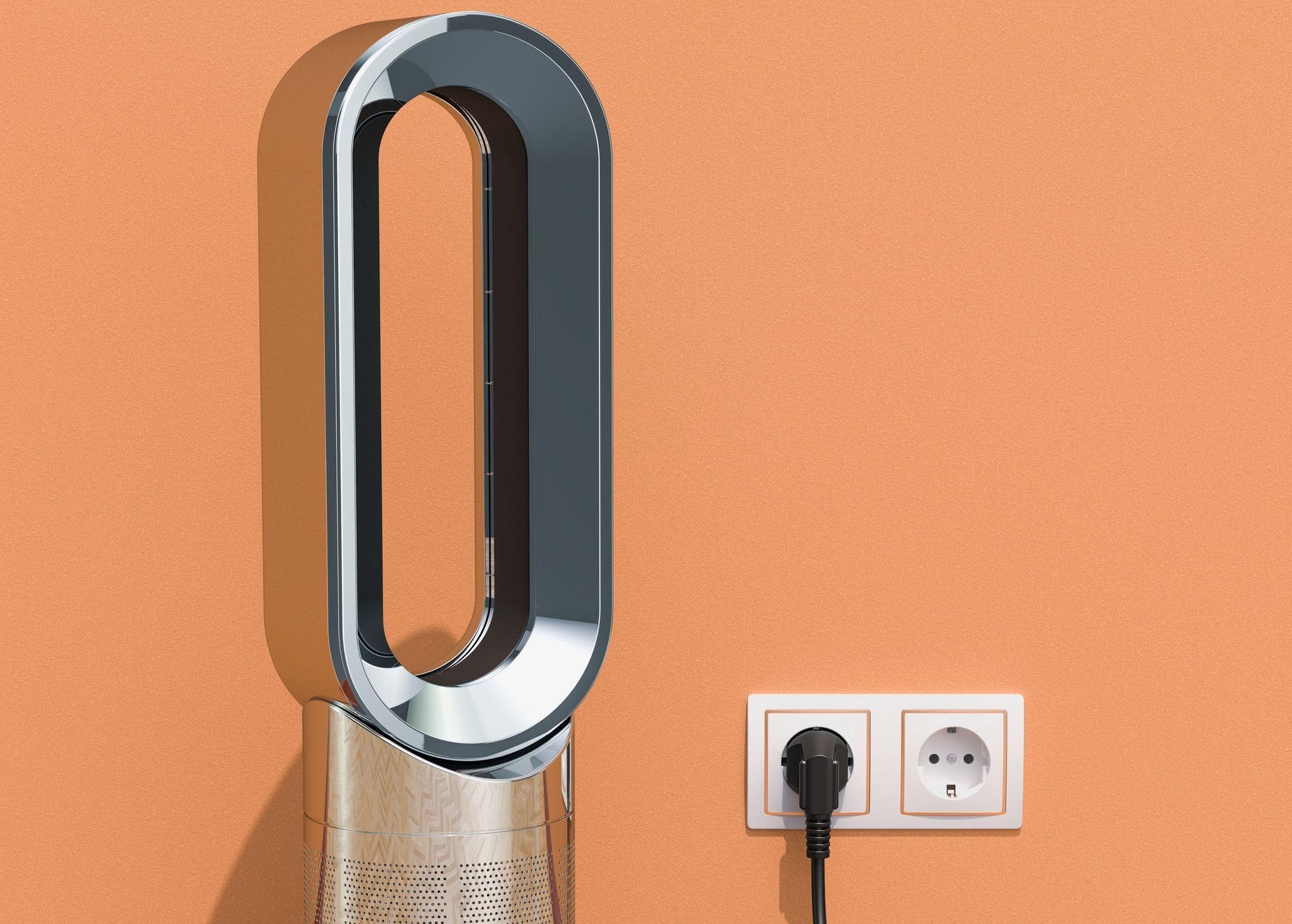 ventilador moderno