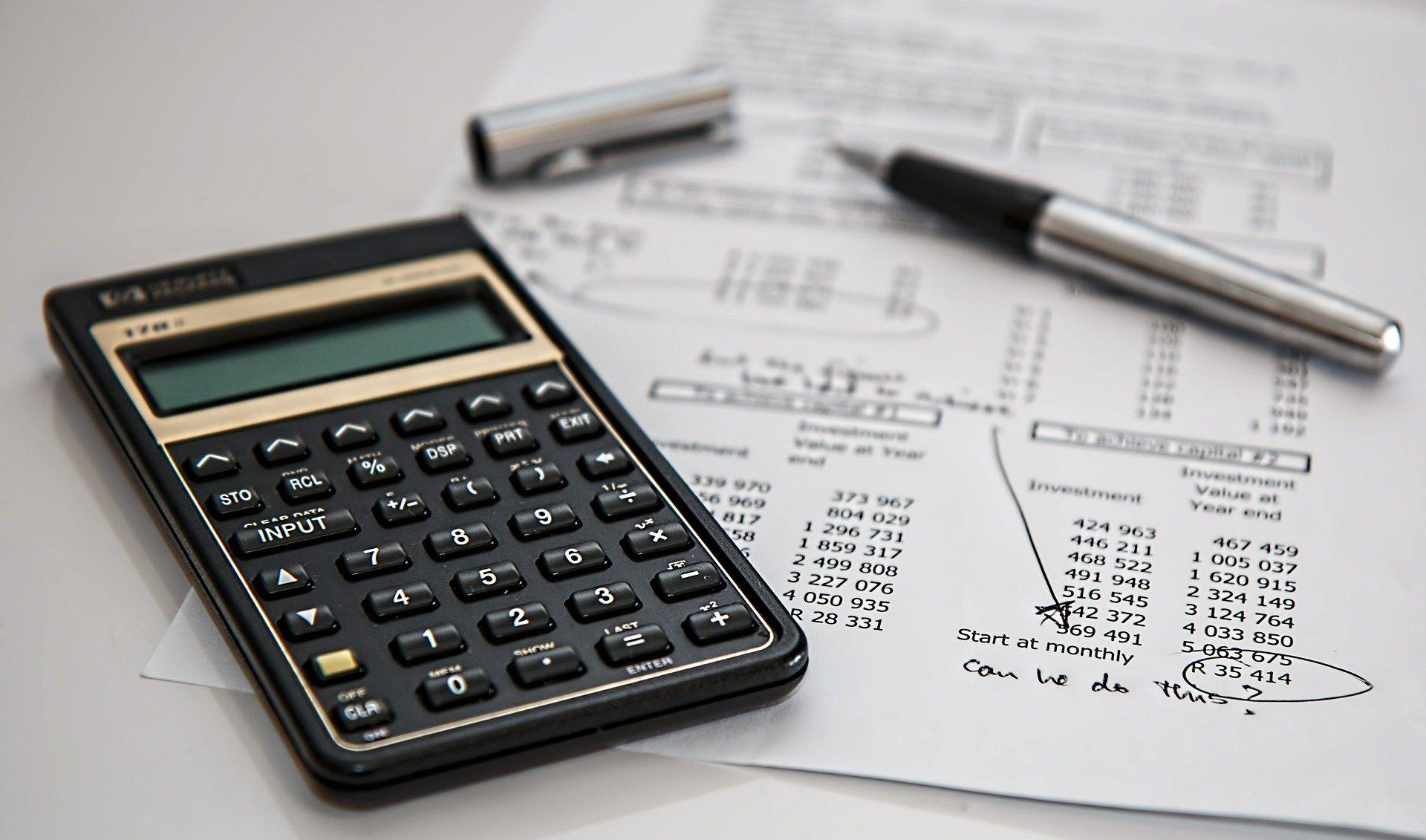 cuentas calculadora