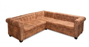 Tipología de sofá rinconera