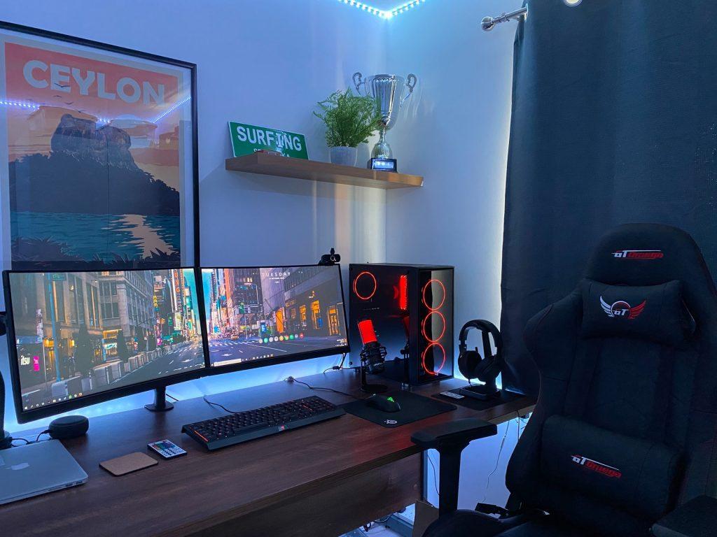 mesa para computadora gamer