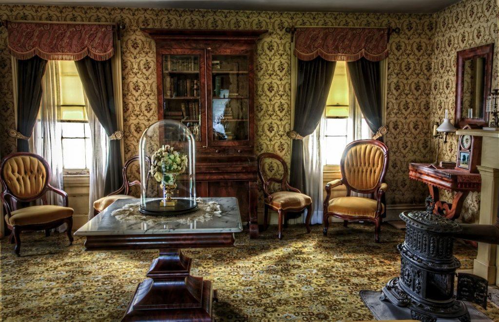 cuarto decoración vintage