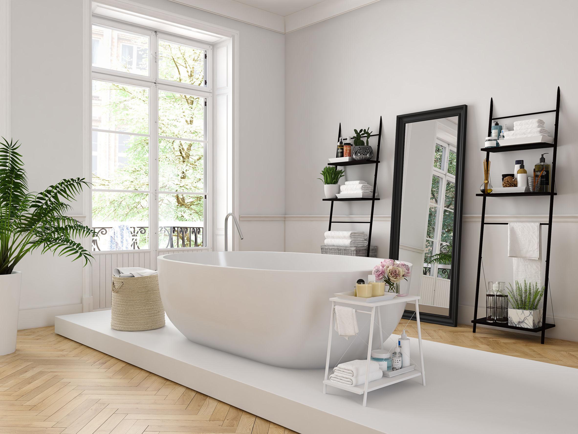 Imagen de baño con bañera