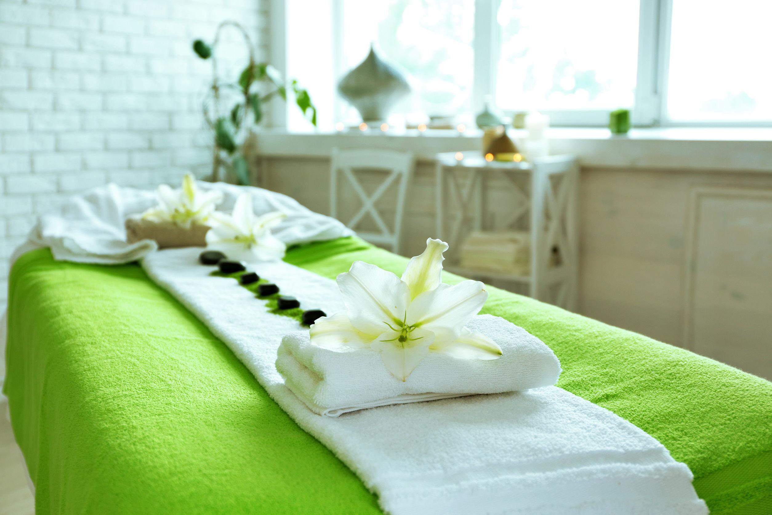 camilla de masaje