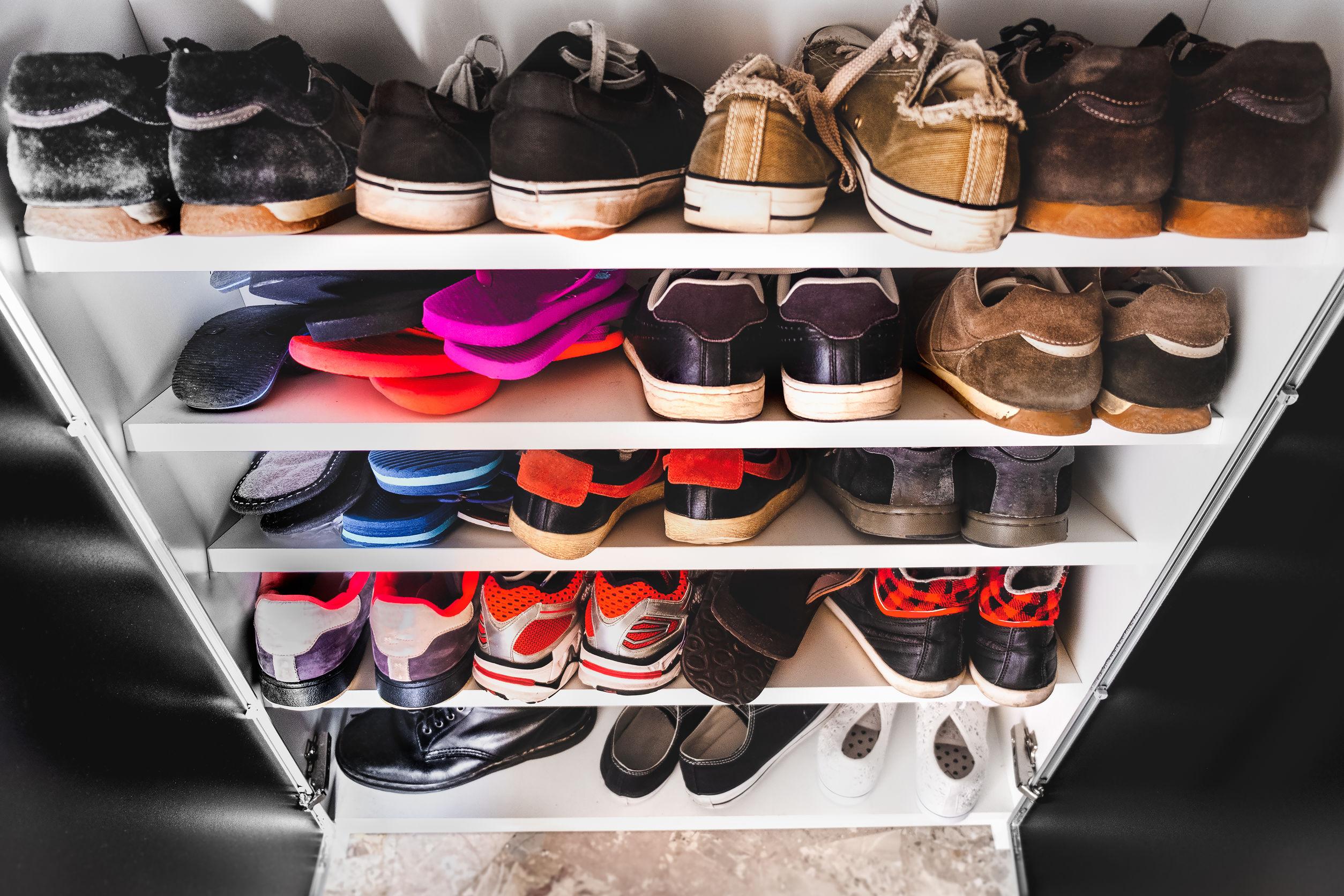 imagen de otganizador de zapatos