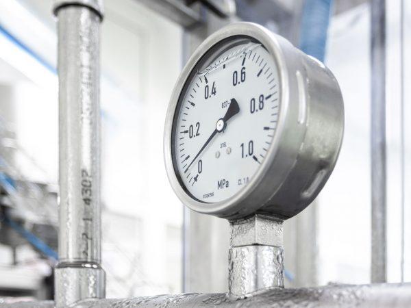 Industrial device of measurement of pressure – manometer