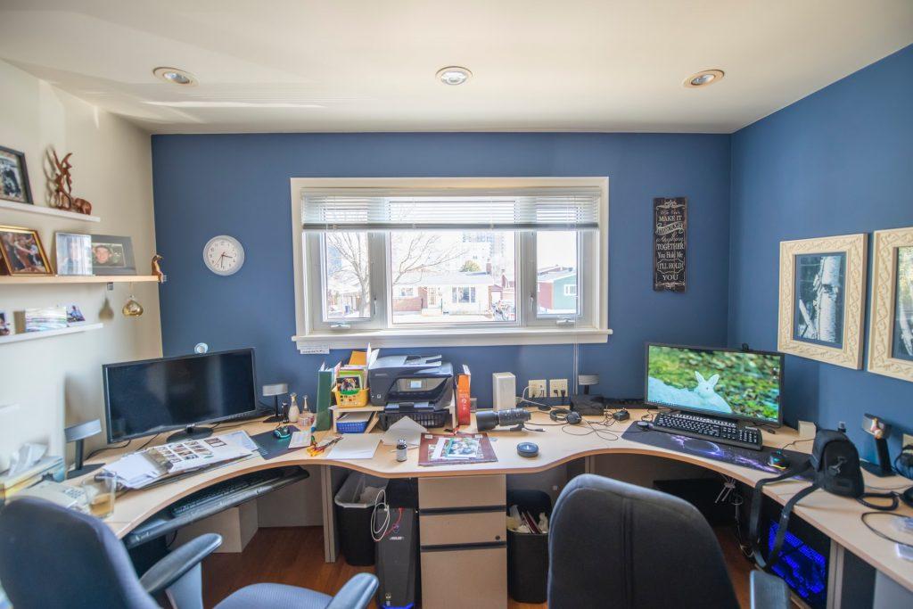 escritorio grande