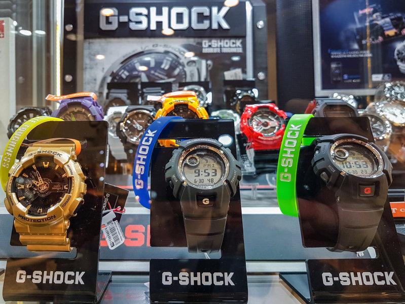 La línea de reloj G-SHOCK