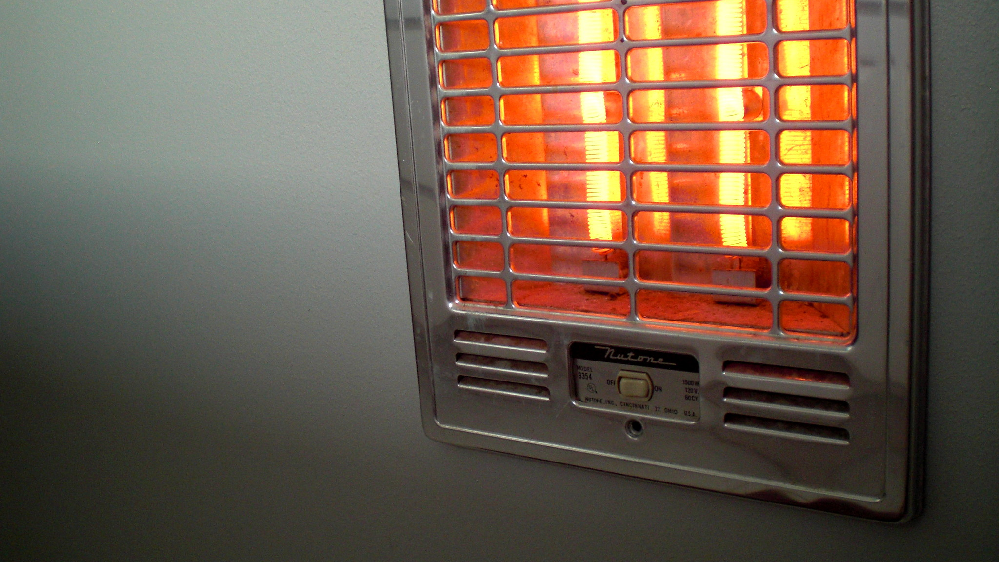Los calefactores infrarrojos son una fuente de calor eficiente y segura.